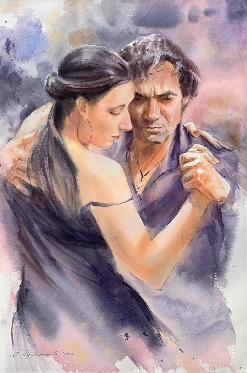 Марина Трушникова_Он,она и танго_2020
