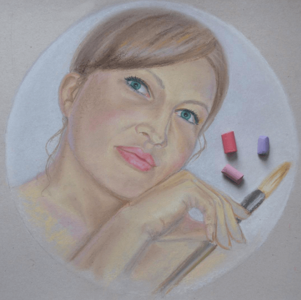 Оксана Забавина, начинающий художник