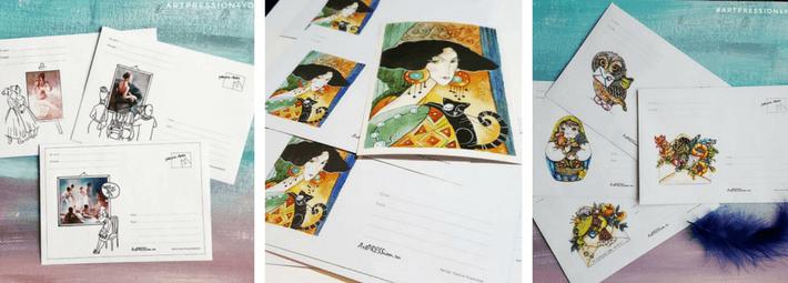 реклама своего творчества: печать на конвертах