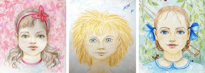 зеркало души, портрет внутреннего ребенка