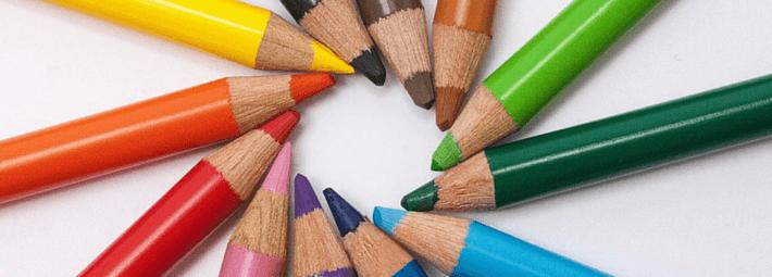 способы рисования цветными карандашами