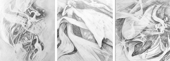 Карандашные фантазии, рисунки простым карандашом