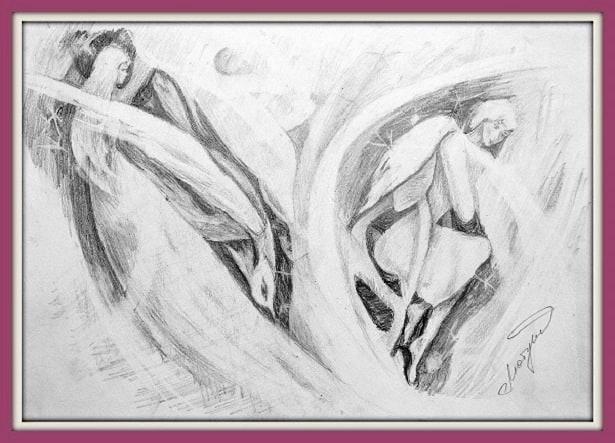 Рисунки, раскрывающие внутренний мир автора