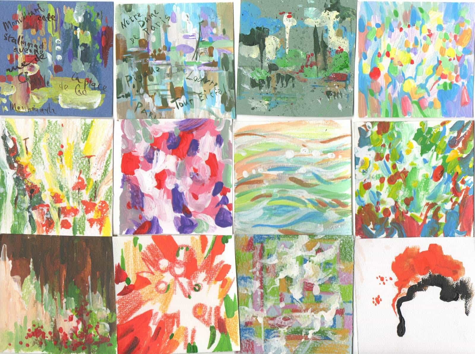 абстракция, картинки