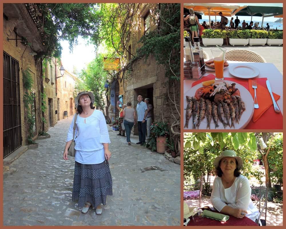 Марина Трушникова, пленэр в Испании, EPC art courses