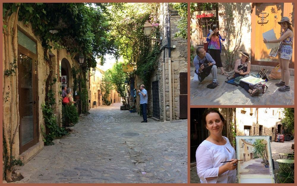 Зарубежный пленэр, Испания, EPC art courses