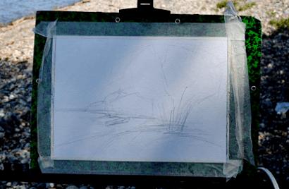 Пейзаж акварелью для начинающих