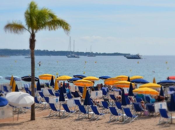 Канны, пляж