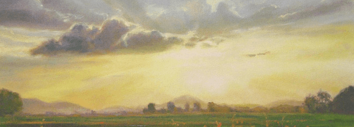 как рисовать небо, облака
