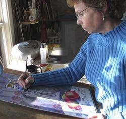 Барбара Фокс, художница