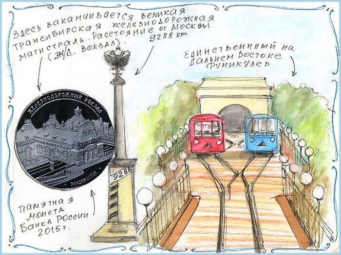 Владивосток, идеи для скетчбука