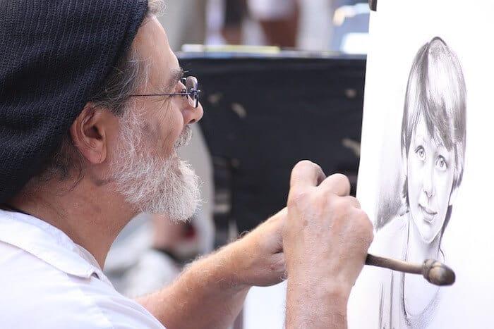 секрет долголетия: рисовать