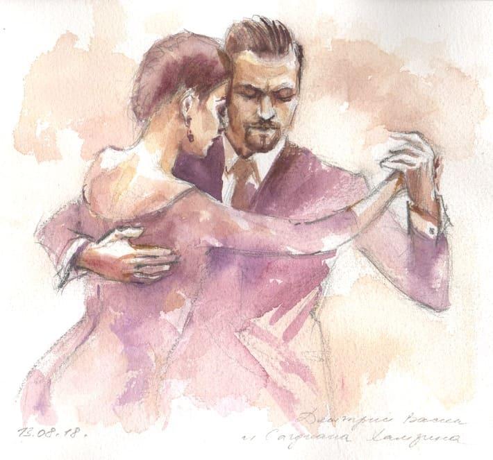 скетчбук танго