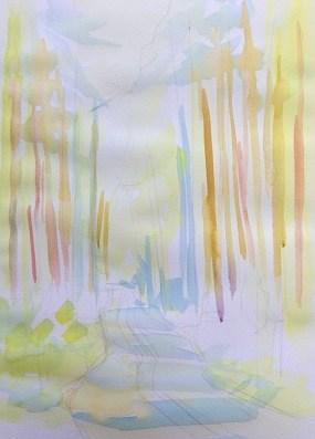 Мастер-класс по многослойной живописи, шаг 3