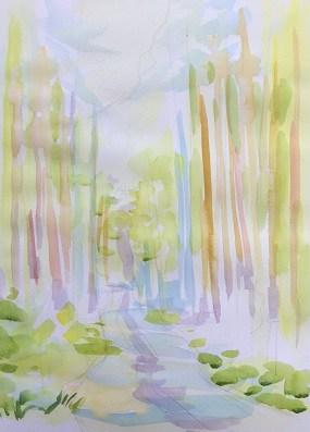 Мастер-класс по многослойной живописи, шаг 4