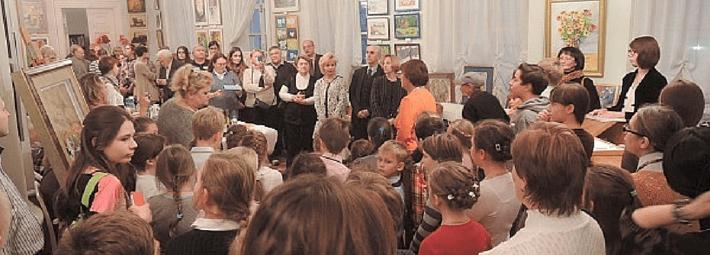 выставка акварели